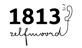 Logo https://www.zelfmoord1813.be/